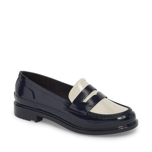 NWT Hunter Waterproof Rubber Penny Loafers